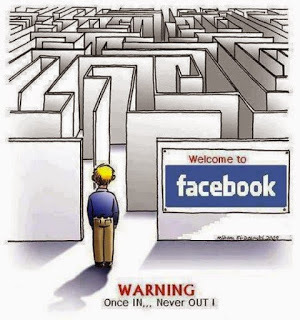 I really felt like I'm in a maze trying to delete my Facebook account! Bo way out!!