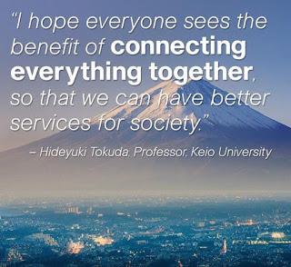 أمل أن يرى الكل فائدة توصيل كل شئ معا، لنتمكن من تقديم خدمات أفضل للمجتمع