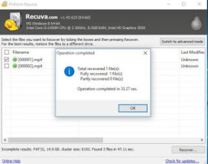 Fix Raw USB or HDD on Toshiba HDD and other brands easily using Recuva