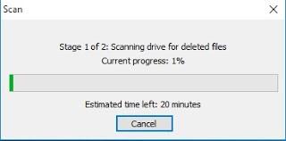 Scanning for data