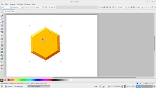 Xara Xtreme. Another Linux design tool