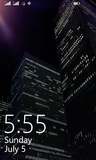 Lumia 630 lock screen