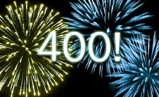 My 400th post, what a journey!