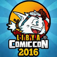 Libya Comicon logo