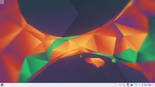 Default interface in Kubuntu