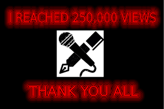 250,000 views! Site update time!