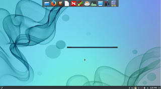 Kubuntu 16.04 with plank, the lancher is Krunner (KDE tool).