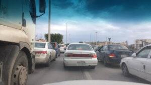 مدينة طرابلس المزدحمة