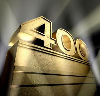 Reaching 400.000 views on my blog!