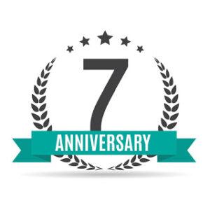 سبع سنين على درب التدوين