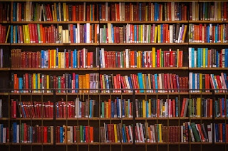 A way to organize random library books in a school
