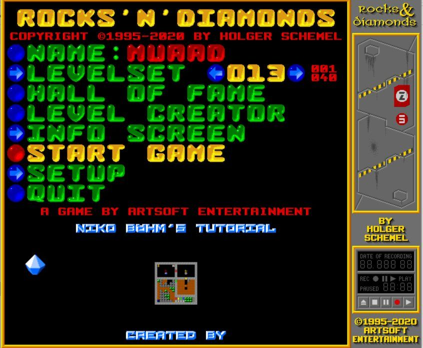 Rocks and diamonds 4.2 release and download + a sister game!