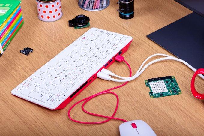 الجديد Raspberry Pi 400 تقرير جهاز